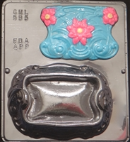 595 Decorative Jewelry Box Chocolate Candy Mold
