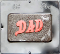 6001 Dad Card Chocolate Candy Mold