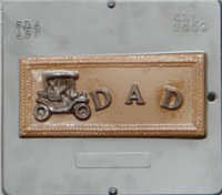 6005 Dad Chocolate Candy Mold