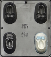 601 Baby Shoe Chocolate Candy Mold