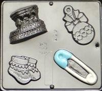 613 Baby Assortment Chocolate Candy Mold