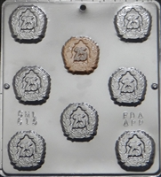 "615 ""25TH"" Anniversary Chocolate Candy Mold"