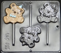 "633 ""Teddy Bear POP"" Lollipop Chocolate