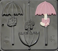 666 Umbrella Lollipop Chocolate Candy Mold