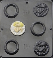 671 Box with Cupid Cover Chocolate Candy Mold