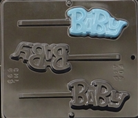 "699 ""Baby"" Lollipop Chocolate Candy Mold"