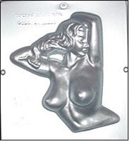 "708 ""Selfie"" Sexy Naked Female Chocolate Candy Mold"