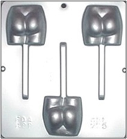 775 Naked Butt Lollipop Chcocolate Candy Mold