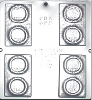 777 Double Pack Condom Chocolate Candy Mold
