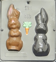 809  Bunny Assembly Chocolate Candy Mold