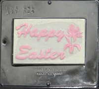 824 Happy Easter Chocolate Candy Mold