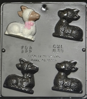 839 Lamb Assembly Chocolate Candy Mold