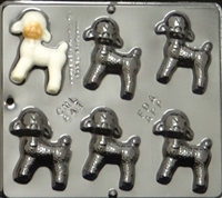 841 Lamb Chocolate Candy Mold
