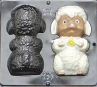 842 Lamb Assembly Chocolate Candy Mold