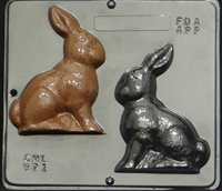 871 Bunny Assembly Chocolate Candy Mold