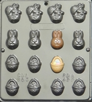 883 Easter Assortment Chocolate Candy Mold