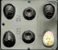 896 Chick Egg Assembly with Stand Chocolate Candy Mold