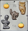 919 Halloween Assortment Chocolate Candy Mold
