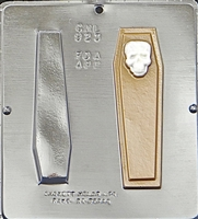 923 Coffin Assembly Chocolate Candy Mold