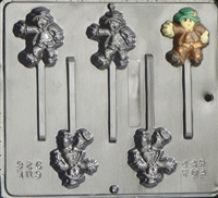 926 Scarecrow Pop Lollipop Chocolate Candy Mold