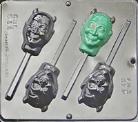 944 Devil Lollipop Chocolate Candy Mold