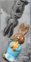 B-9004 BOY BUNNY ASSEMBLY MOLD 10""