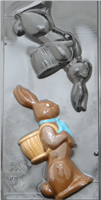 B-9009 BUNNY ASSEMBLY MOLD 9 3/4""