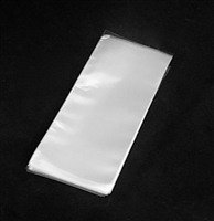 "BA-01Q Super Clear Cello Style Bag. 2 1/2"" x 6""  1000 ct."