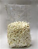 BA-12 Cellophane bag.  Gusseted with gold speckles 100 ct.