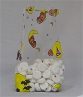 BA-60 Halloween printed cellophane bag. 100 ct.