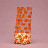 BAP-13 Jack O Lantern/Pumpkin printed cello bag. 100 ct.