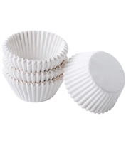 BC-02  White Mini Baking Cup. 520 ct.