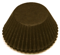 BC-30-100 Dark Brown Cup Standard Baking Cup 100 ct.