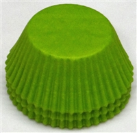BC-35-100 Lime Green Standard Baking Cup 100 ct.