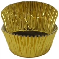 BCF-01-100 Gold Foil Standard Baking Cup 100 ct.