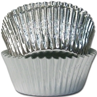 BCF-02-100 Silver Foil Standard Baking Cup 100 ct.