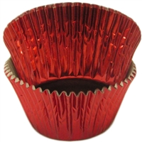 BCF-03 Red Foil Standard Baking Cup 500 ct.