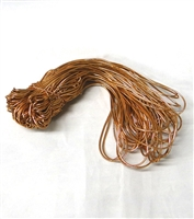 "BE-21 Copper Metallic Stretch Loop 8"" Quantity 50"