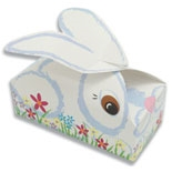 "BO-116 Buddy Bunny Box. 1/2 lb. one piece. 5 1/2"" x 2 3/4"" x 1 3/4"" Quantity 25"