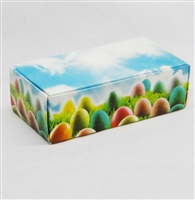 BO-117 1/4 lb. one piece Eggs & Grass box. 4 1/2x2 5/16x1 1/8 This box has print on all sides. Quantity 25