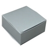 "BO-15 Silver 1pc. Box (Holds 4 pcs.) 2 1/2"" x 2 1/2"" x 1 1/8"" Quantity 50"