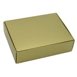 "BO-25GQ Gold 1pc. (1/4 lb.) 4 1/2"" x 3 1/2"" x 1 1/4"" Quantity 100"