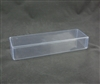 "BO-44 Clear Rectangular Acetate Box 2pc. 9"" x 2 3/4"" x 1 1/2"""