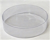 "BO-51-25 Clear Round Acetate Box 2 piece. 6"" diameter x 1 1/2"" deep"