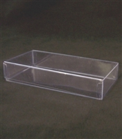 BO-53 Clear Rectangular Acetate 2pc. Box
