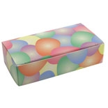 BO-88Q 1/4 lb. One Piece Easter Eggs Box. 4 1/2in. x 2 5/16in. x 1 1/8in. Quantity 100