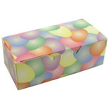 BO-89 1/2 lb. One Piece Easter Eggs Box. 5 1/2in. x 2 3/4in. x 1 3/4in. Quantity 50