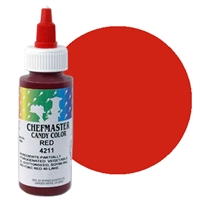 CM-11 Chefmaster Red Liquid Candy Color 2oz.