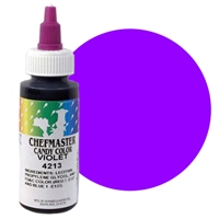 CM-13 Chefmaster Violet Liquid Candy Color 2oz.