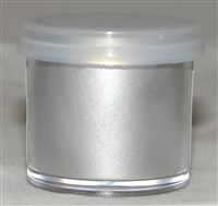 "DP-38 ""Highlighter Silver"" Highlighter Dusting Powder. 2 gram container."